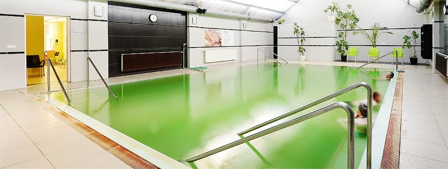 Termálny bazén až